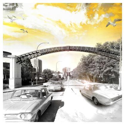 CORVAIR Avenue Cushion