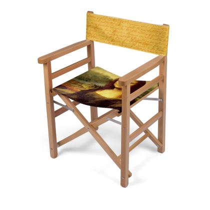 Mona Lisa Directors Chair