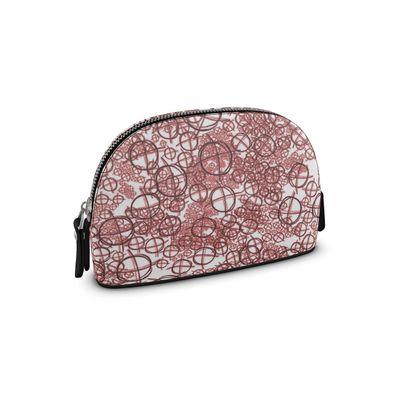 Small Premium Nappa Make Up Bag - Operator Symbol