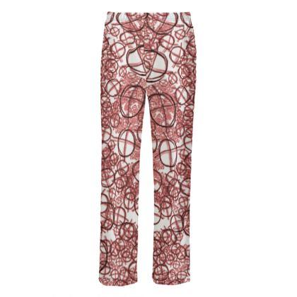 Mens Silk Pyjama Bottoms - Operator Symbol