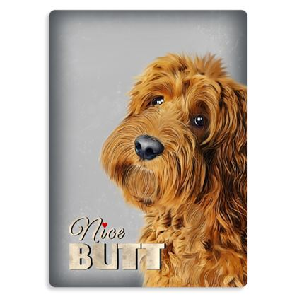 Nice butt red dog