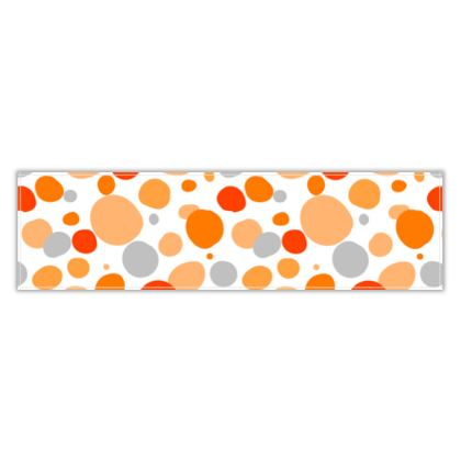 Orange Joy - Table Runner - abstract bright cheerful gift sunny summer