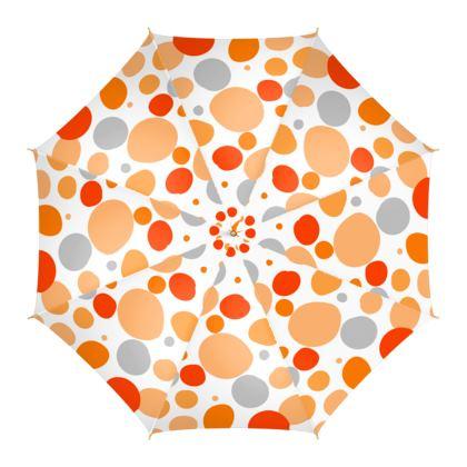 Orange Joy - Umbrella - abstract bright cheerful gift sunny summer