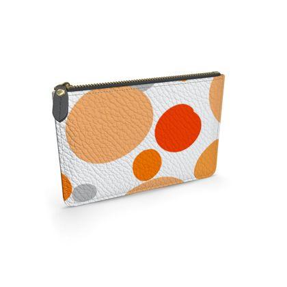 Orange Joy - ddd - abstract bright spots, cheerful gift, sunny summer
