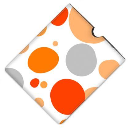Orange Joy - iPad Case - abstract bright, cheerful gift, sunny summer