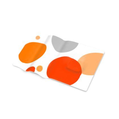 Orange - Pen Tray - abstract bright spots, cheerful gift, sunny summer