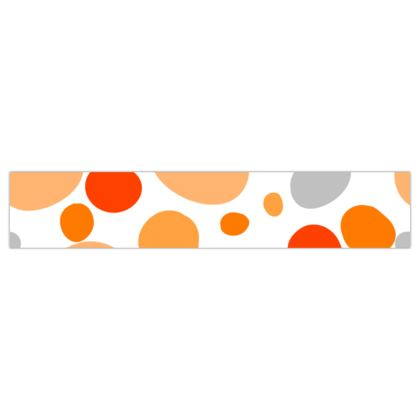 Orange Joy - Ribbon - abstract bright spots, cheerful, sunny summer