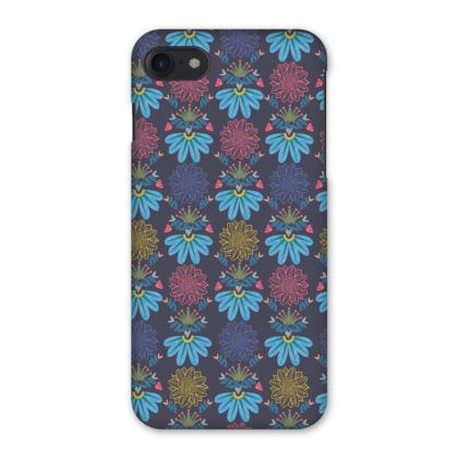Blue Floral Craft iPhone 7 Case
