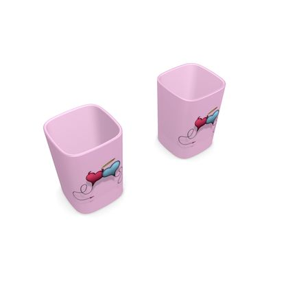 Square Shot Glass 2 Set - Opposite Attraction