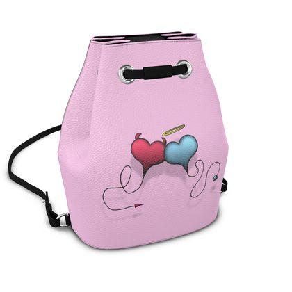 Bucket Backpack - Opposite Attraction
