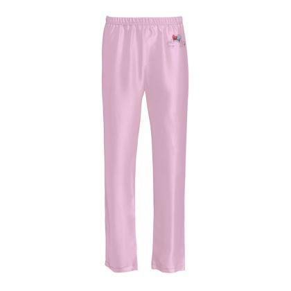 Ladies Silk Pyjama Bottoms - Opposite Attraction