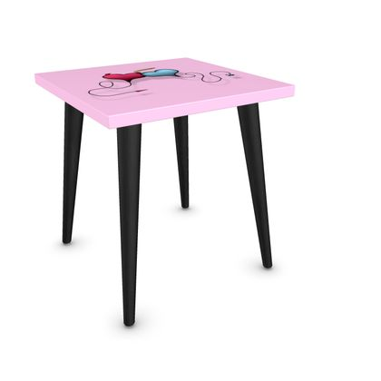 Square Side Table - Opposite Attraction