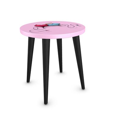 Round Side Table - Opposite Attraction