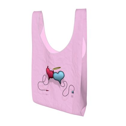 Parachute Shopping Bag - Opposite Attraction