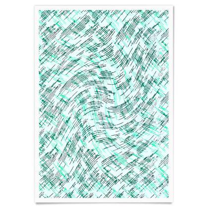 Paper Posters - Petri Family Jade Remix