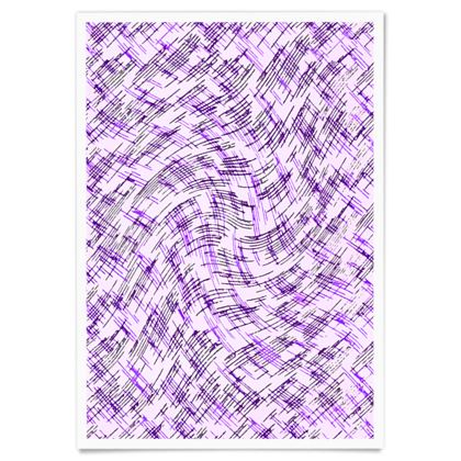 Paper Posters - Petri Family Purple Remix