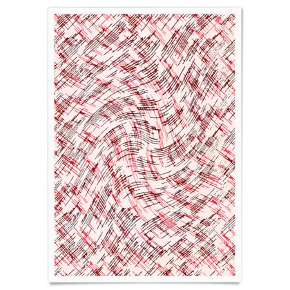 Paper Posters - Petri Family Red Remix
