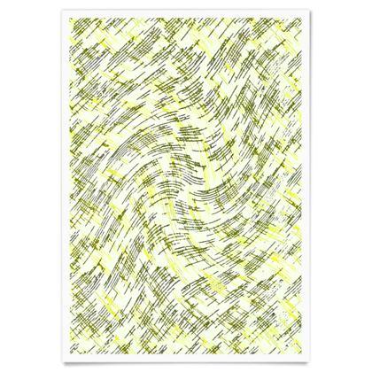Paper Posters - Petri Family Yellow Remix