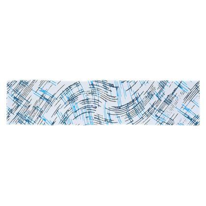 Scarf Wrap Or Shawl - Petri Family Blue Remix