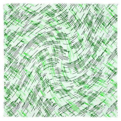 Scarf Wrap Or Shawl - Petri Family Green Remix