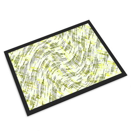 Door Mat - Petri Family Yellow Remix