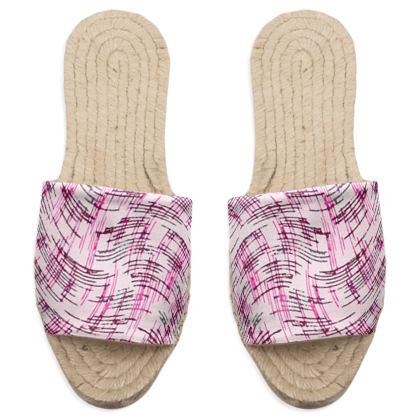 Sandal Espadrilles - Petri Family Pink Remix