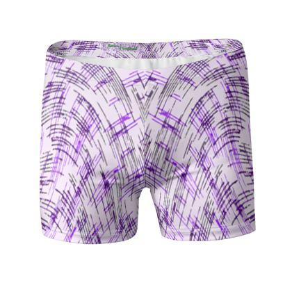 Swimming Trunks - Petri Family Purple Remix