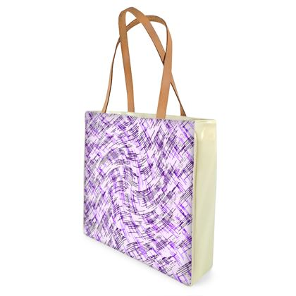 Beach Bag - Petri Family Purple Remix