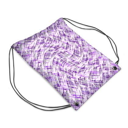 Swim Bag - Petri Family Purple Remix