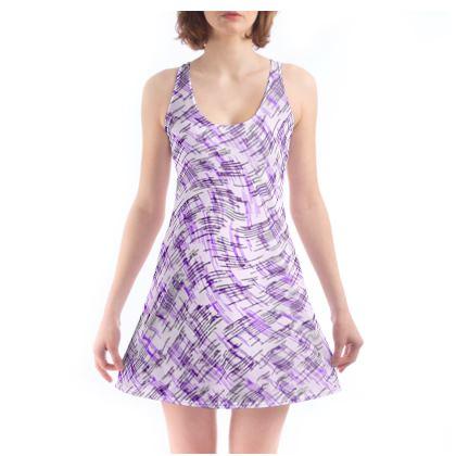 Beach Dress - Petri Family Purple Remix