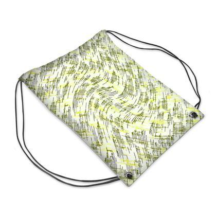 Swim Bag - Petri Family Yellow Remix