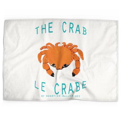 "Tea Towel ""Le Crabe"""