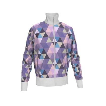 Mens Tracksuit Jacket Rhomboids