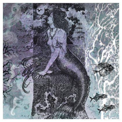'Sea Shanty' Mermaid Cushion