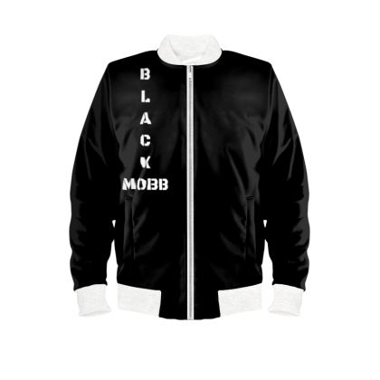 BlackMobb Entertainment Leathal Bomber Jacket