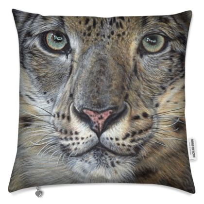 Big Cat Cushions - Snow Leopard