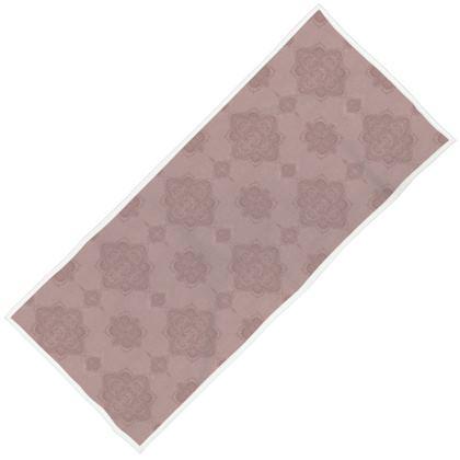 Marrakesh Mandala towel - blush pink