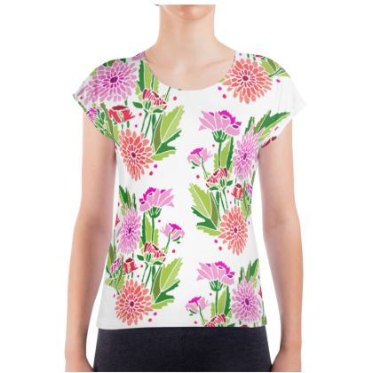 Chrysanthemums Light Ladies T Shirt