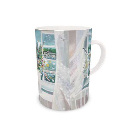 Bone China Mug Sea Breeze