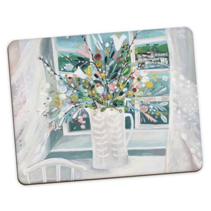 Placemats in Natalie Rymer Sea Breeze design