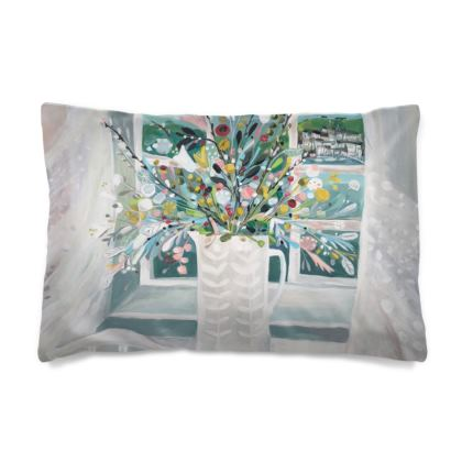 Pillow Case in Natalie Rymer Sea Breeze design
