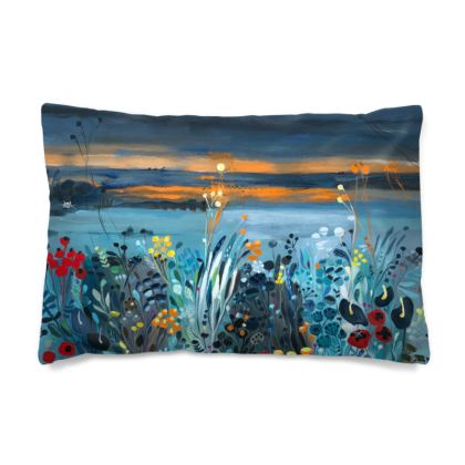 Pillow Case in Natalie Rymer Setting Sun design