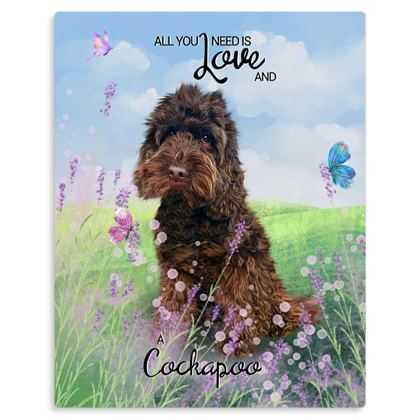 Chocolate ~ All you need is love and a cockapoo