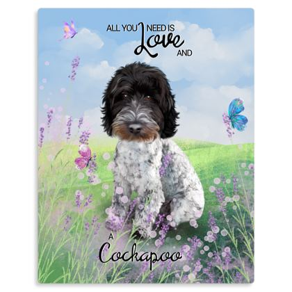 Blue roan all you Need is Love and a. Cockapoo