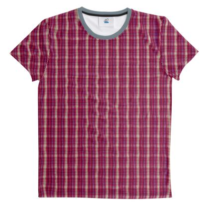 Cut And Sew All Over Print T Shirt 60