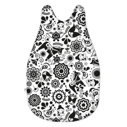 Scandinavian Garden Monochrome Baby Sleeping Bag