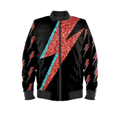 Ziggy Sparkle Ladies Bomber Jacket