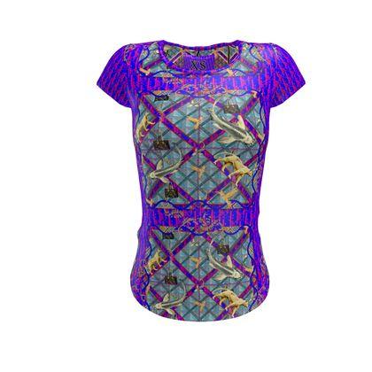 Slim fit shirt #ninibing34 XS purple rain