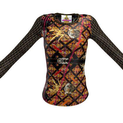 Langarm Designer Slimfit Shirt ninibing34