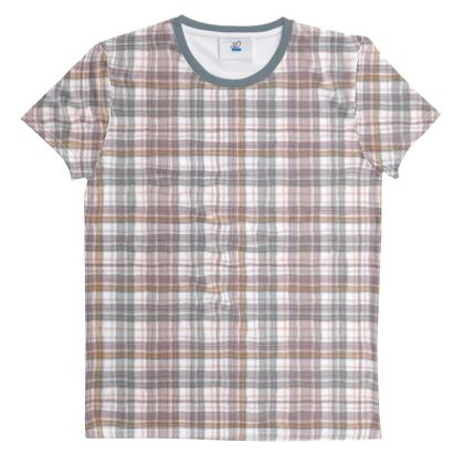 Cut And Sew All Over Print T Shirt 61